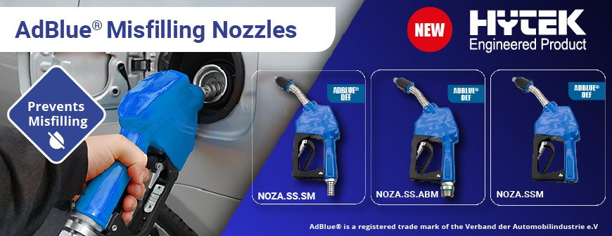 Hytek Engineered Auto Adblue® Misfilling Nozzles
