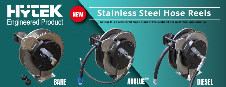 Stainless Steel Hose Reels - Hytek Engineered