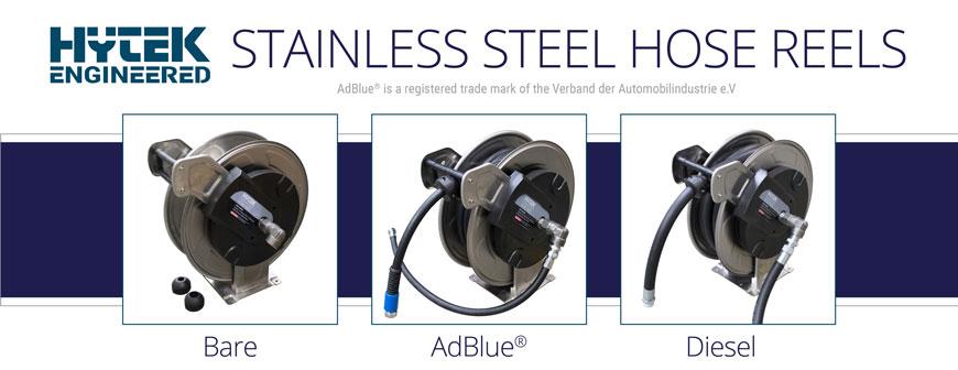 Stainless Steel Hose Reels - Hytek Engineered