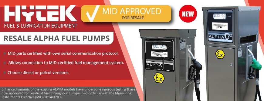 Alpha MID Approved Fuel Pumps