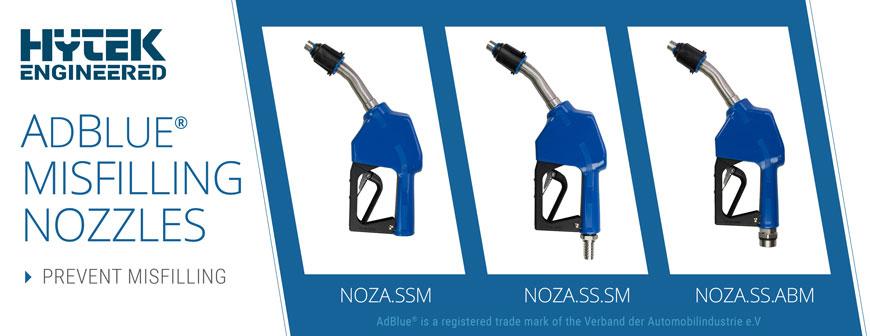 Hytek Engineered Auto Adblue® Misfilling Nozzles