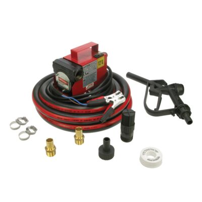 Hytek Economy Cased Transfer Pump Kit (Manual) - 12V or 24V