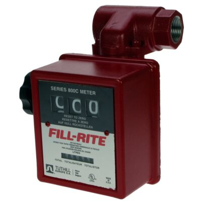 "Fill-Rite 806 1"" Flow Meter - 3 Digit - c/w Strainer"