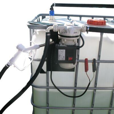 12V or 24V IBC Mount Battery Transfer Pump Kit (30L/min) for AdBlue®/DEF