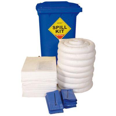 200 Litre Wheeled Bin Spill Kit - Double Weight Pads