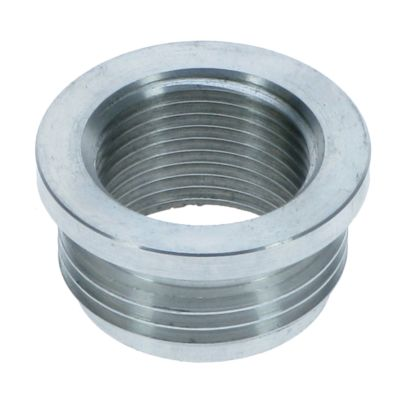 "1""M - 3/4""F BSPP Reducing Bush - Aluminium Plated"