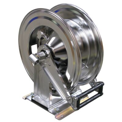 Bare Stainless Steel Hose Reel - 544 Series