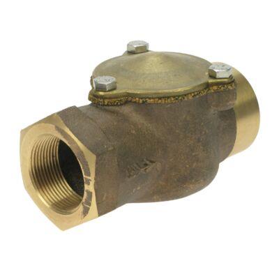 "Inline Check Valve for Diesel/Petrol - 1½"" F BSPT"