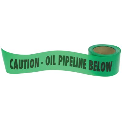 Oil Line Warning Tape