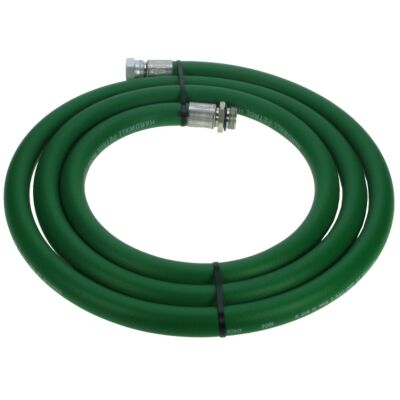 "(Green) Goodyear Steel Braided Fuel Dispensing Hose - 16mm Bore - ¾"" MF ends"