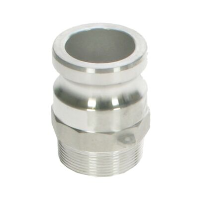 "Part F Male Cam Adaptor - 2"" male thread"