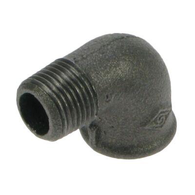 Black Iron Elbow - M/F BSPT