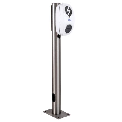 Stainless Steel Mounting Posts For Vehicle Chargers