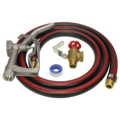 Diesel Gravity Feed Kit with Locking Angle Valve - Quick Release