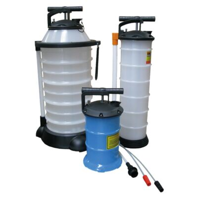Manual Liquid Extraction Vacuum Pump - 2.7Lt, 6Ltr & 17Ltr Options.