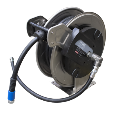 Stainless Steel AdBlue Hose Reel - Supplied with 10m x 16mm Hose