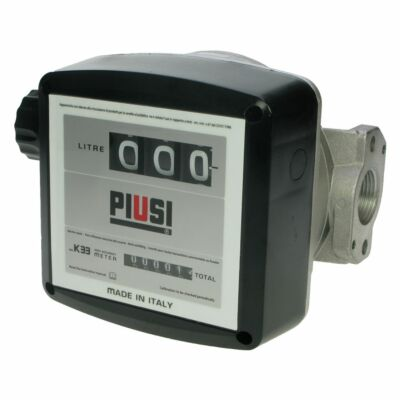 "Piusi K33 1"" Flow Meter for Diesel - 3 Digit"