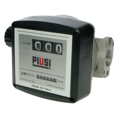 "Piusi K33 1"" Flow Meter for Oil & Biodiesel (550160)"