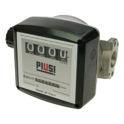 "Piusi K44 1"" Flow Meter for Diesel - 4 Digit"