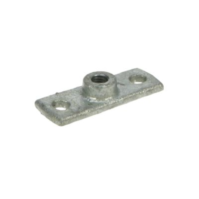 Galvanised Fitting - Plate for Pipe Clips