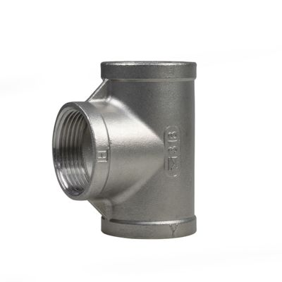 "1 1/4"" BSP Tee Stainless Steel For SUB.PRV"