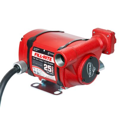 12V /24V Duel Voltage, 95L/min ATEX pump. Supplied with 6m battery cable & croc clips